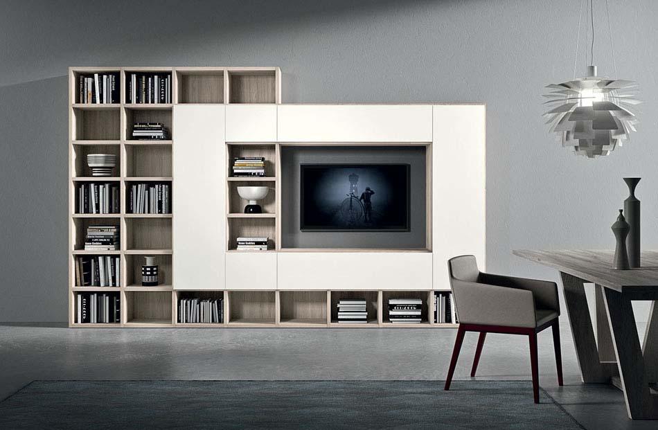 Novamobili Librerie Moderne Componibili – Bruni Arredamenti – 131