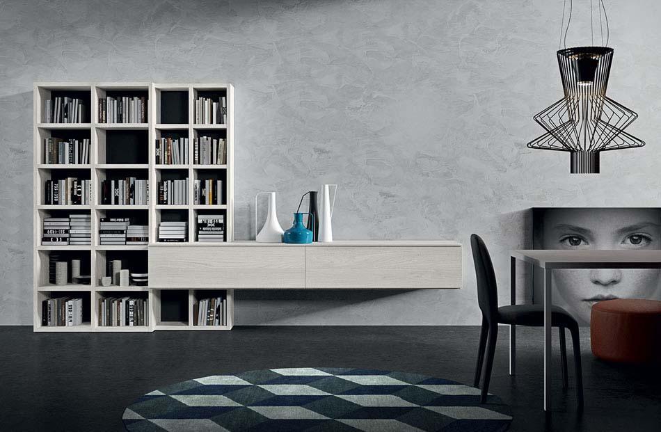 Novamobili Librerie Moderne Componibili – Bruni Arredamenti – 132