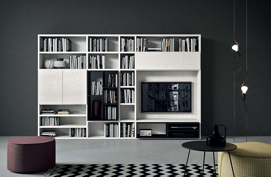 Novamobili Librerie Moderne Componibili – Bruni Arredamenti – 133