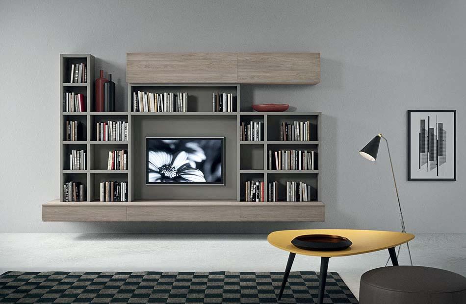 Novamobili Librerie Moderne Componibili – Bruni Arredamenti – 134