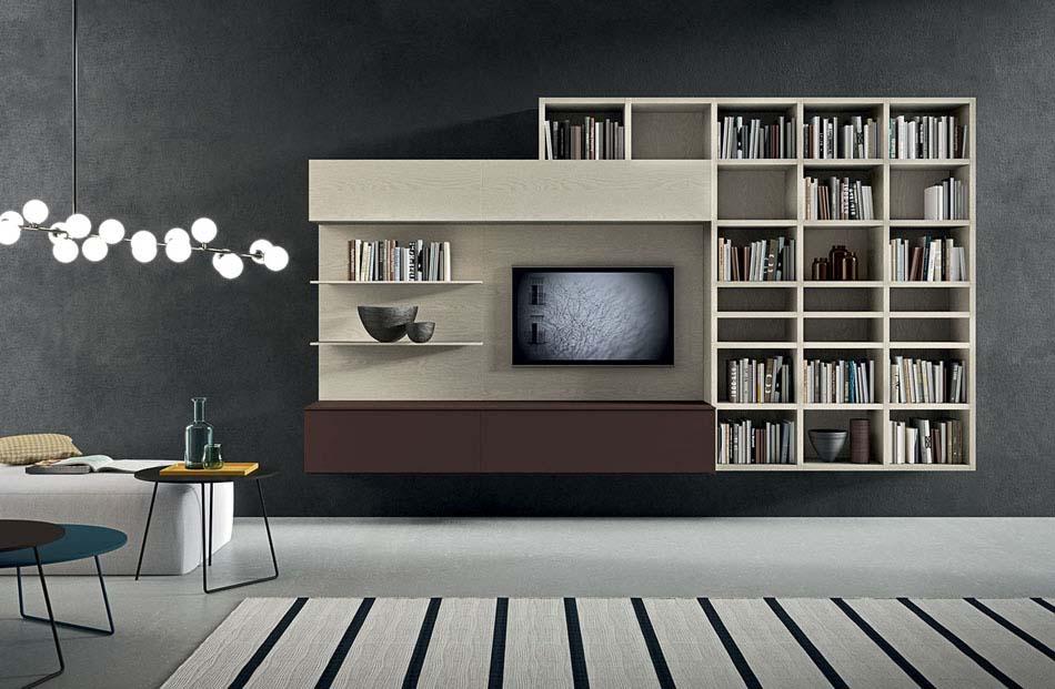 Novamobili Librerie Moderne Componibili – Bruni Arredamenti – 135