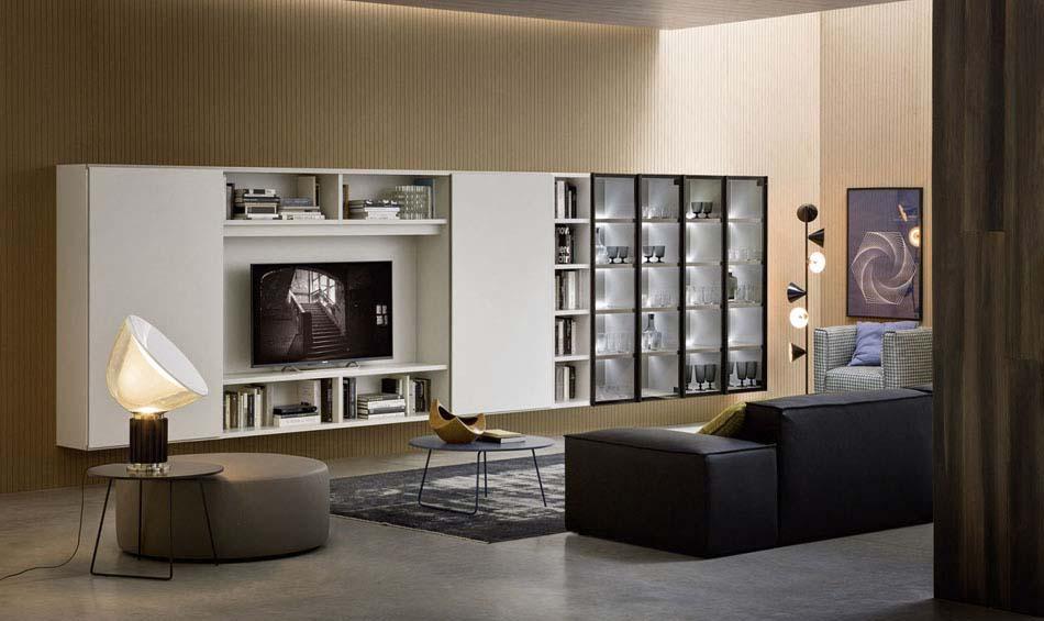 Novamobili Librerie Moderne Componibili – Bruni Arredamenti – 137