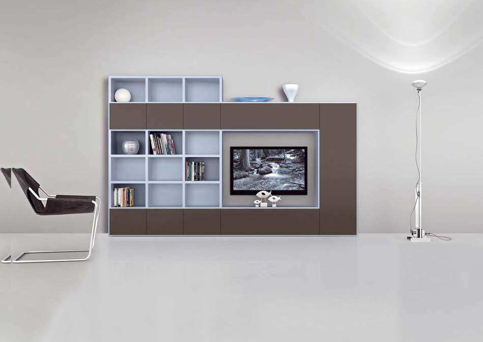 Novamobili Librerie Moderne Componibili – Bruni Arredamenti – 140