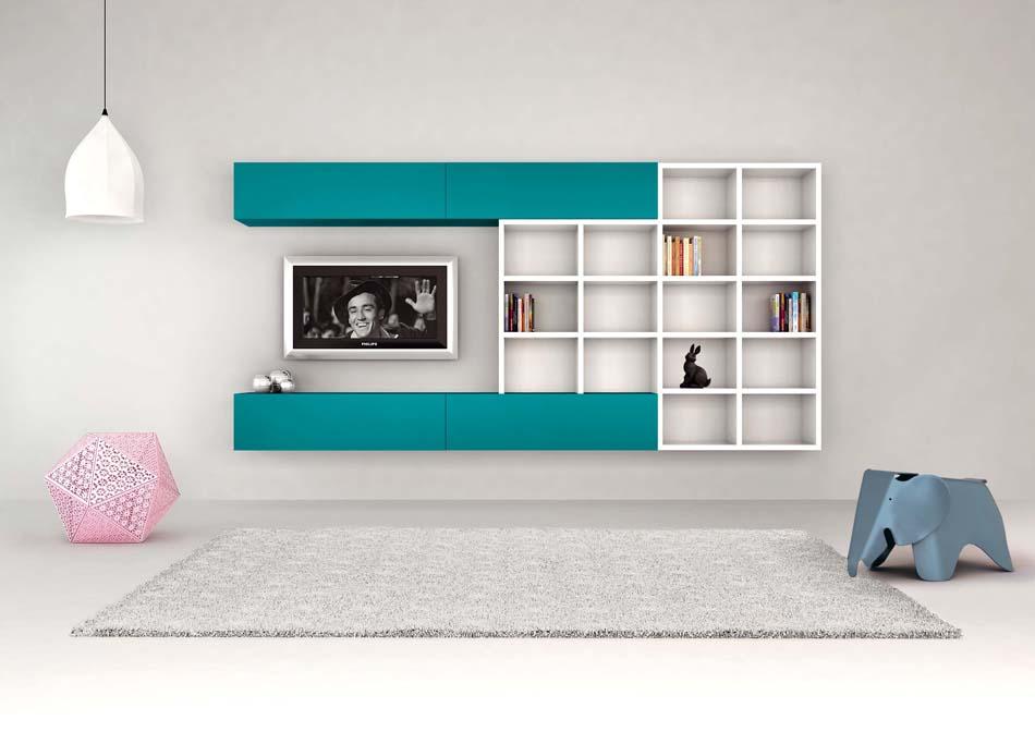 Novamobili Librerie Moderne Componibili – Bruni Arredamenti – 142