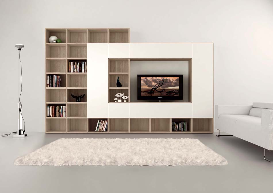 Novamobili Librerie Moderne Componibili – Bruni Arredamenti – 145