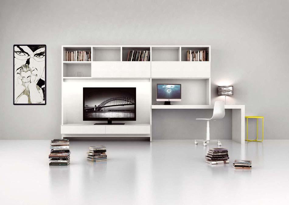 Novamobili Librerie Moderne Componibili – Bruni Arredamenti – 149