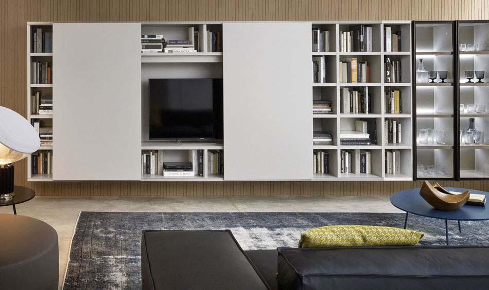 Novamobili Librerie Moderne Componibili – Bruni Arredamenti – 153