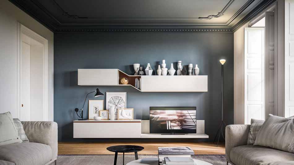 Orme Living Componibile Moderno – Bruni Arredamenti – 104