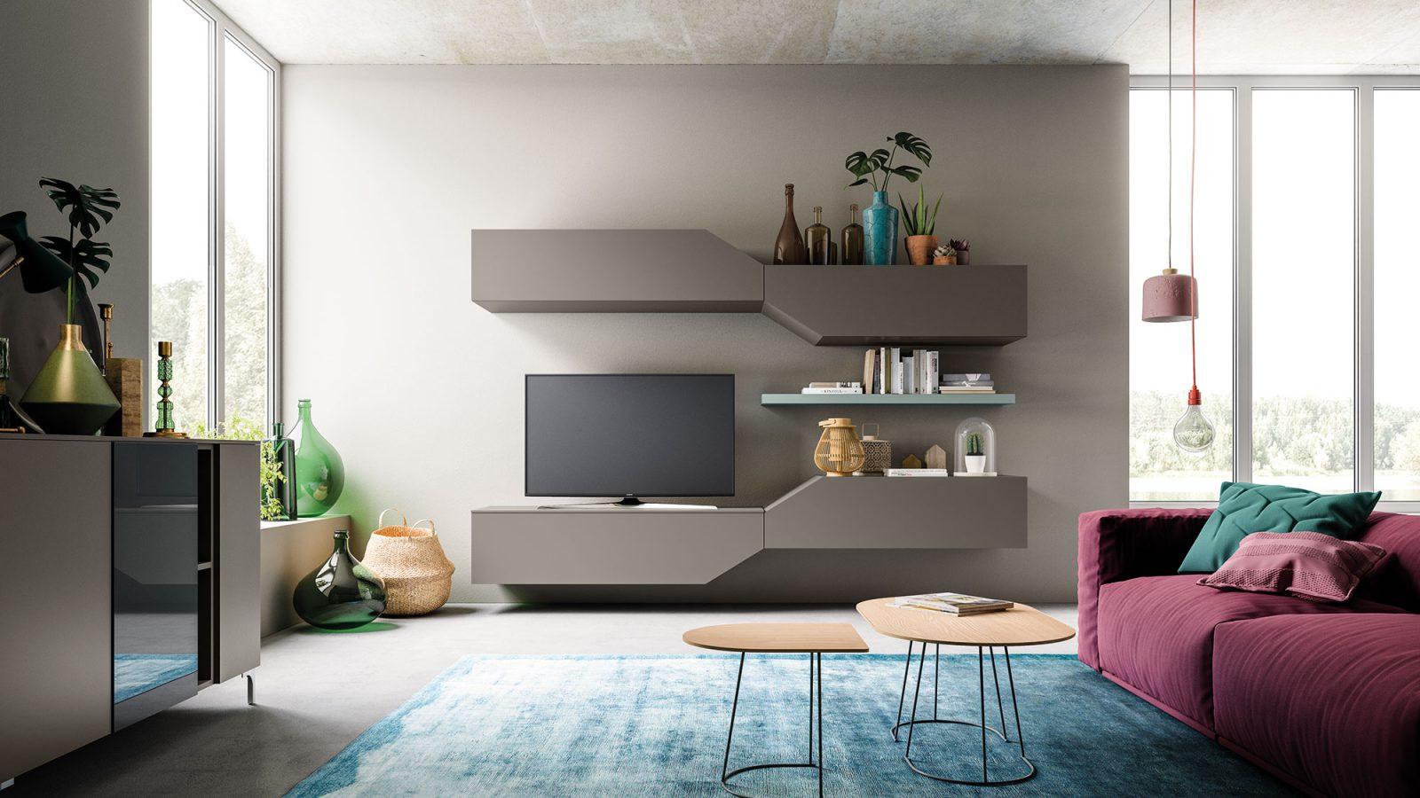 Orme Living Componibile Moderno – Bruni Arredamenti – 105