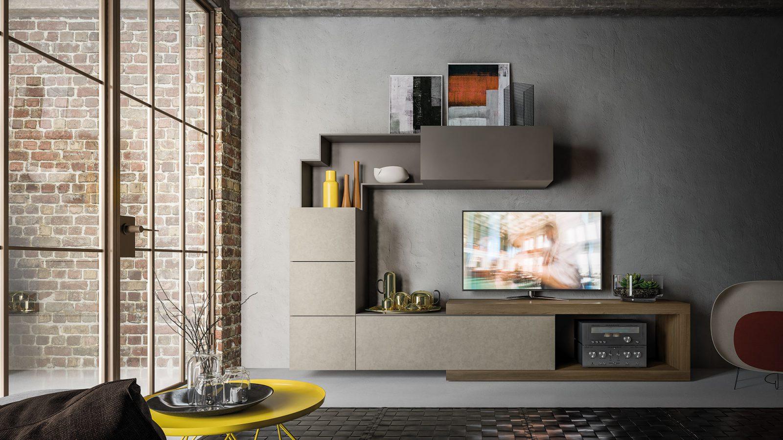 Orme Living Componibile Moderno – Bruni Arredamenti – 113