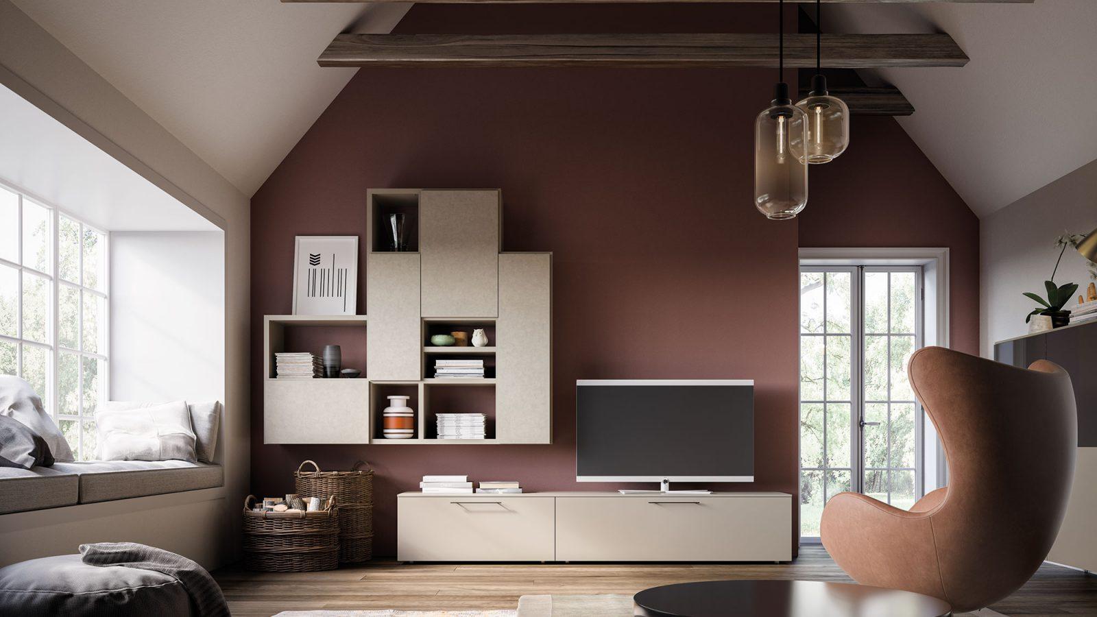 Orme Living Componibile Moderno – Bruni Arredamenti – 124