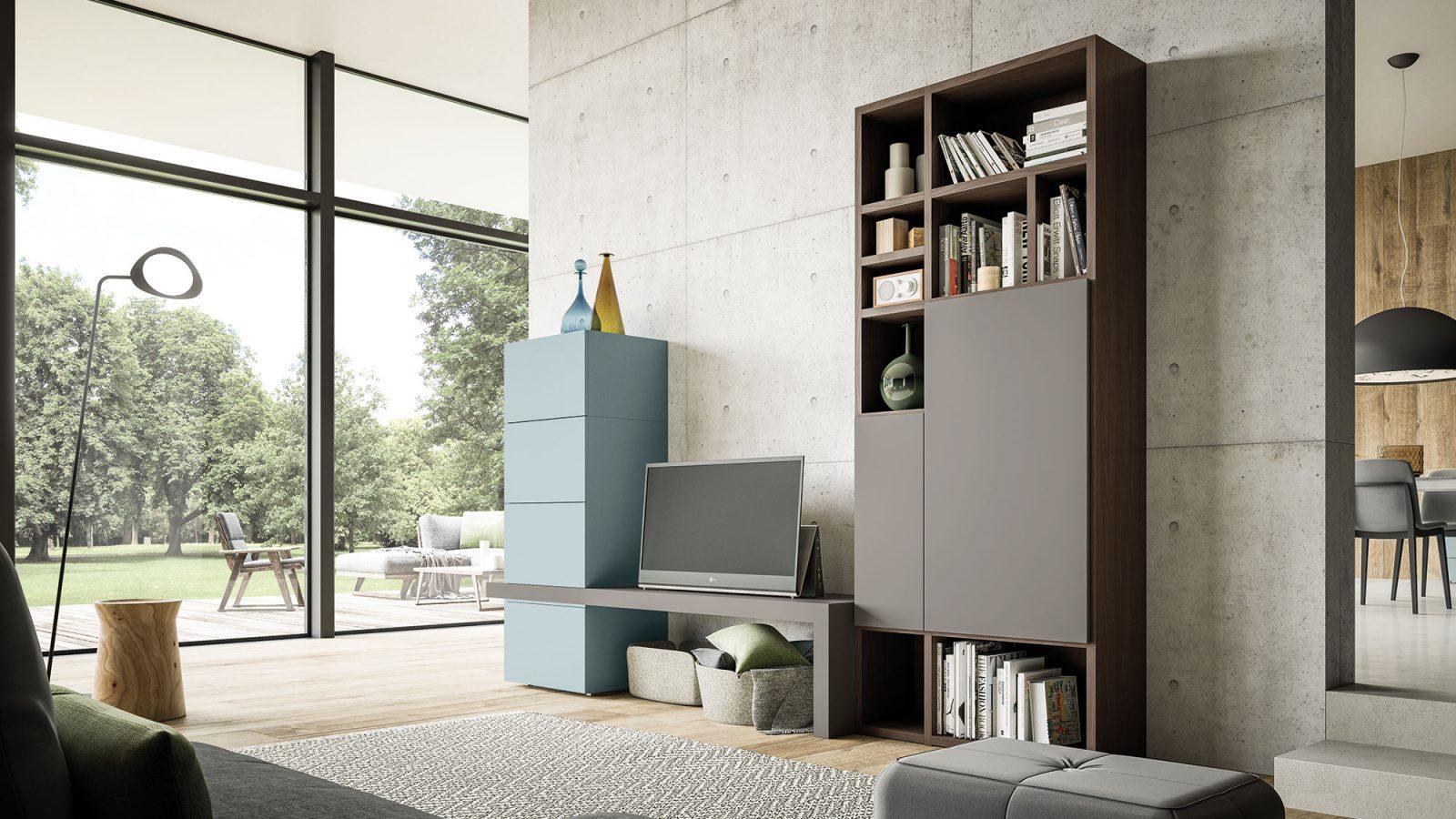 Orme Living Componibile Moderno – Bruni Arredamenti – 125