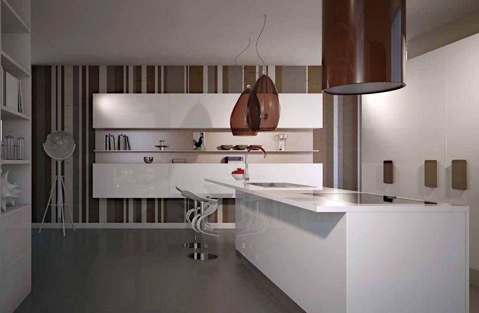 Scic Cucine 03a Design Solobianco – Bruni Arredamenti