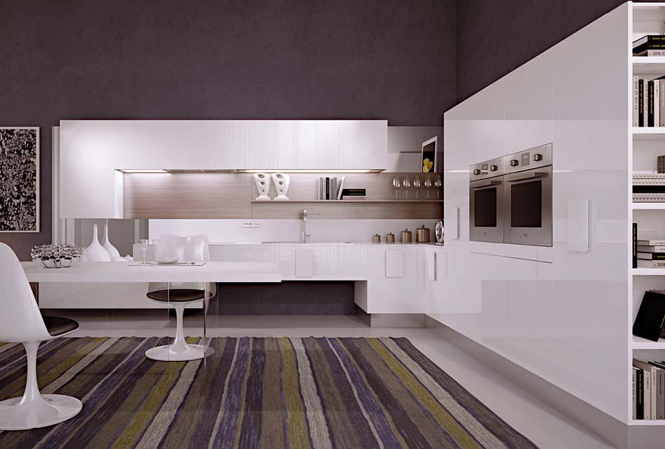 Scic Cucine 04 Design Solobianco – Bruni Arredamenti