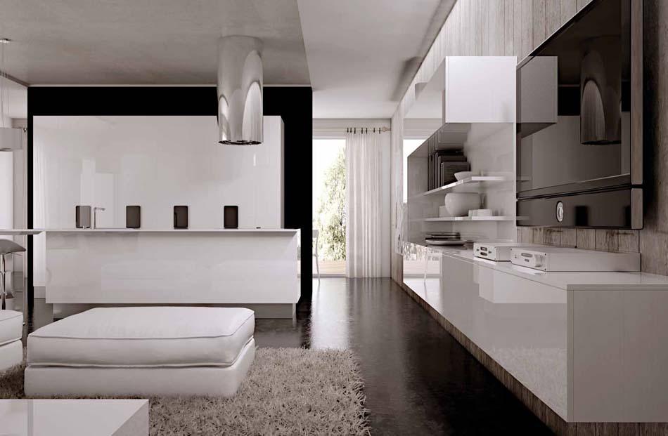Scic Cucine 04a Design Solobianco – Bruni Arredamenti