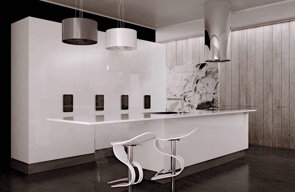 Scic Cucine 05a Design Solobianco – Bruni Arredamenti