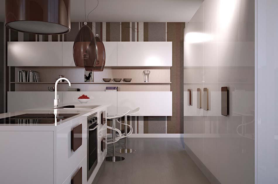 Scic Cucine 07a Design Solobianco – Bruni Arredamenti