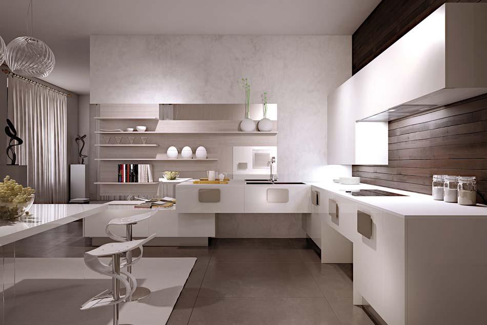 Scic Cucine 08a Design Solobianco – Bruni Arredamenti