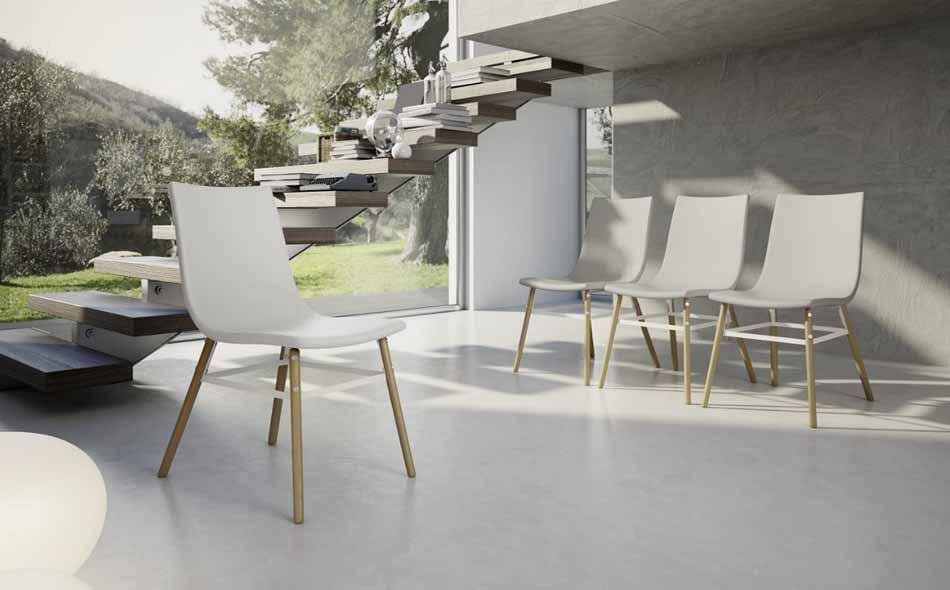 Zamagna Italia 05 Sedia Design – Bruni Arredamenti