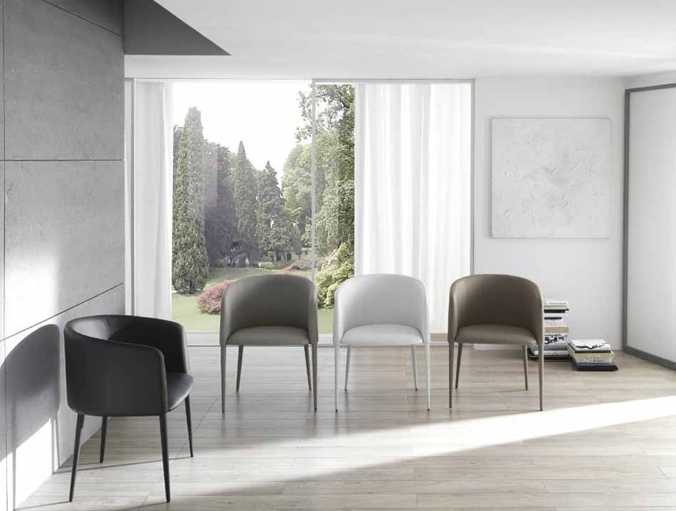 Zamagna Italia 28 Sedia Design – Bruni Arredamenti