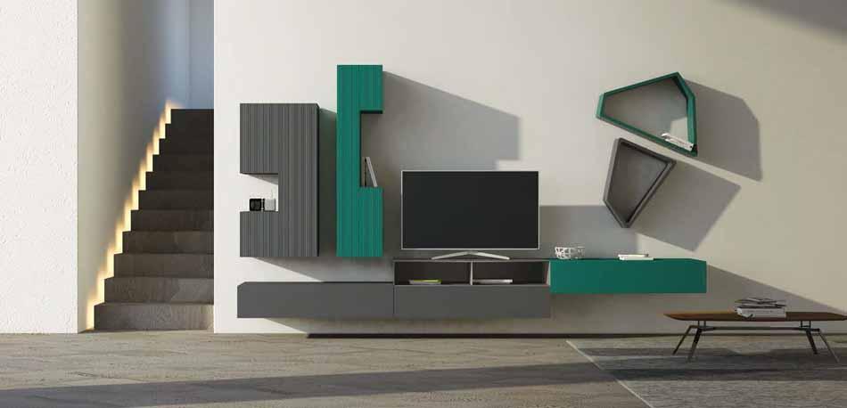 Voltan Living Moderno 09- Bruni Arredamenti