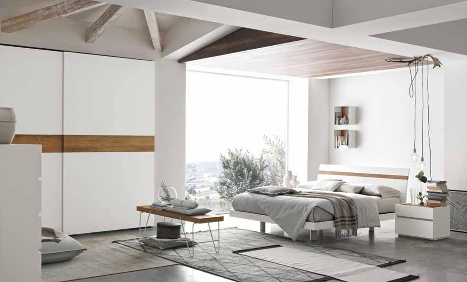 Tomasella 05 2 Letti in legno – Bruni Arredamenti