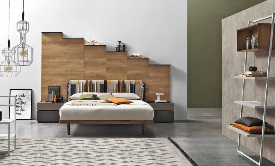 Tomasella 07 2 Letti in legno – Bruni Arredamenti