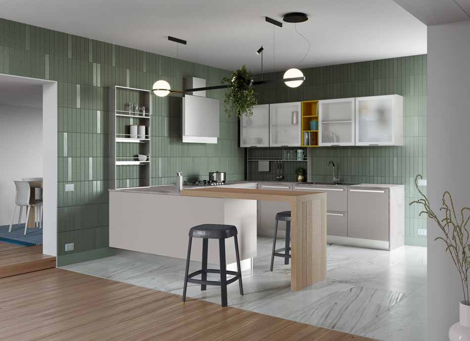 Creo Kitchens 01 Zoe – Bruni Arredamenti