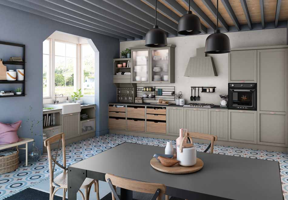 Creo Kitchens 11 Contempo- Bruni Arredamenti