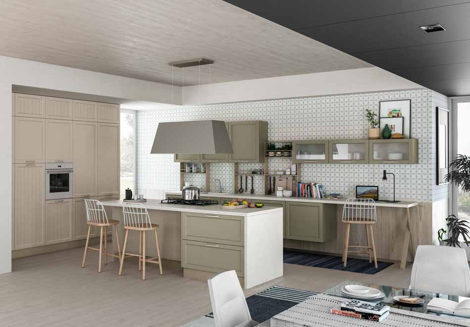 Creo Kitchens 14 Contempo- Bruni Arredamenti