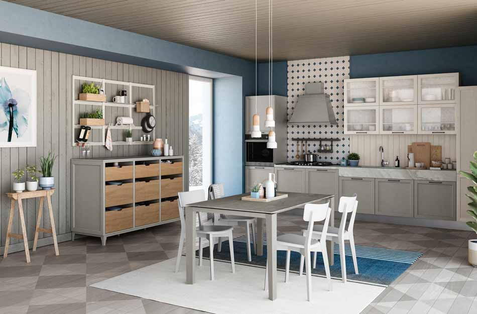 Creo Kitchens 21 Contempo- Bruni Arredamenti